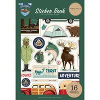 Carta Bella Paper - Outdoor Adventures Collection - Cardstock Sticker Book