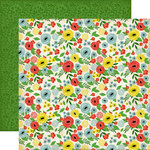 Carta Bella Paper - Our Family Collection - 12 x 12 Double Sided Paper - Beautiful Afternoon