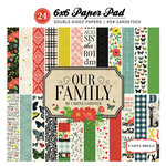 Carta Bella Paper - Our Family Collection - 6 x 6 Paper Pad