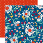 Carta Bella Paper - Our House Collection - 12 x 12 Double Sided Paper - Country Floral