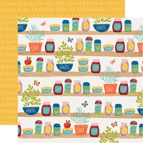 Carta Bella Paper - Our House Collection - 12 x 12 Double Sided Paper - Spice of Life