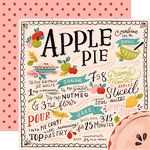 Carta Bella Paper - Our House Collection - 12 x 12 Double Sided Paper - Apple Pie