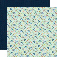 Carta Bella Paper - Our House Collection - 12 x 12 Double Sided Paper - Wildflowers