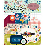 Carta Bella Paper - Our House Collection - Ephemera - Frames and Tags