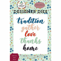 Carta Bella Paper - Our House Collection - Designer Dies - Gather Love Word