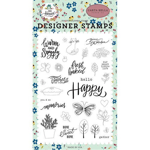 Carta Bella Paper - Our House Collection - Clear Photopolymer Stamps - Sweet Little Life