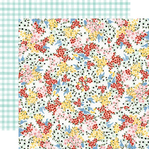 Carta Bella Paper - Oh Happy Day Collection - 12 x 12 Double Sided Paper - Tiny Floral