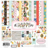 Carta Bella Paper - Oh Happy Day Collection - 12 x 12 Collection Kit