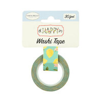 Carta Bella Paper - Oh Happy Day Collection - Decorative Tape -Sweet Lemons