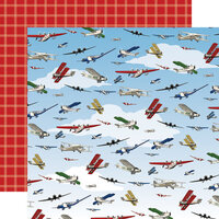 Carta Bella Paper - Our Travel Adventure Collection - 12 x 12 Double Sided Paper - Away We Go