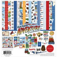 Carta Bella Paper - Our Travel Adventure Collection - 12 x 12 Collection Kit