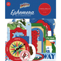 Carta Bella Paper - Our Travel Adventure Collection - Ephemera