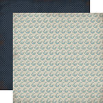 Carta Bella Paper - Old World Travel Collection - 12 x 12 Double Sided Paper - Globes