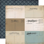 Carta Bella Paper - Old World Travel Collection - 12 x 12 Double Sided Paper - Dear To Me