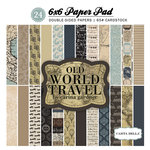 Carta Bella Paper - Old World Travel Collection - 6 x 6 Paper Pad