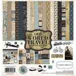 Carta Bella Paper - Old World Travel Collection - 12 x 12 Collection Kit