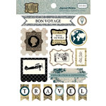 Carta Bella Paper - Old World Travel Collection - Layered Stickers
