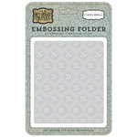 Carta Bella Paper - Old World Travel Collection - Embossing Folder - Compass