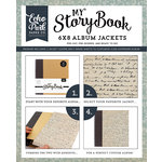 Carta Bella Paper - Old World Travel Collection - My StoryBook - 6 x 8 Album Jacket - Script