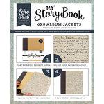 Carta Bella Paper - Old World Travel Collection - My StoryBook - 6 x 8 Album Jacket - Script