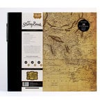 Carta Bella Paper - Old World Travel Collection - My StoryBook - 12 x 12 Photo Journal - Map