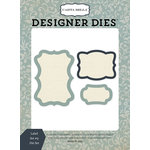 Carta Bella Paper - Old World Travel Collection - Designer Dies - Label Set 9