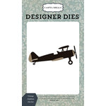 Carta Bella Paper - Old World Travel Collection - Designer Dies - Vintage Airplane