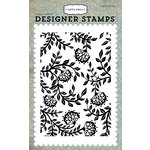 Carta Bella Paper - Old World Travel Collection - Clear Acrylic Stamps - Victorian Floral