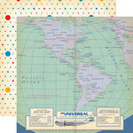 Carta Bella Paper - Passport Collection - 12 x 12 Double Sided Paper - Bon Voyage