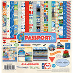 Carta Bella Paper - Passport Collection - 12 x 12 Collection Kit