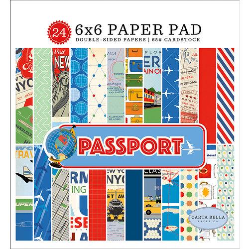 Carta Bella Paper - Passport Collection - 6 x 6 Paper Pad