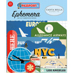 Carta Bella Paper - Passport Collection - Ephemera