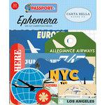 Carta Bella Paper - Passport Collection - Ephemera