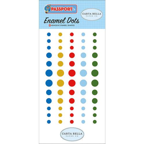 Carta Bella Paper - Passport Collection - Enamel Dots