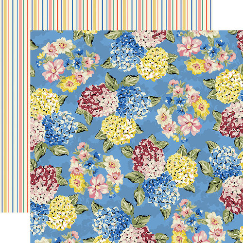 Carta Bella Paper - Practically Perfect Collection - 12 x 12 Double Sided Paper - Jolly Floral