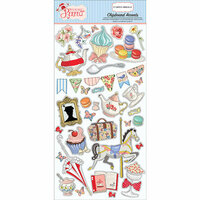 Carta Bella Paper - Practically Perfect Collection - Chipboard Stickers - Accents