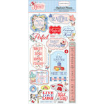 Carta Bella Paper - Practically Perfect Collection - Chipboard Stickers - Phrases