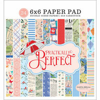 Carta Bella Paper - Practically Perfect Collection - 6 x 6 Paper Pad
