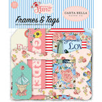 Carta Bella Paper - Practically Perfect Collection - Ephemera - Frames and Tags