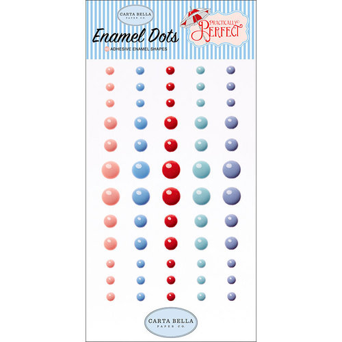 Carta Bella Paper - Practically Perfect Collection - Enamel Dots