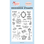 Carta Bella Paper - Practically Perfect Collection - Clear Acrylic Stamps