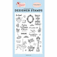 Carta Bella Paper - Practically Perfect Collection - Clear Photopolymer Stamps