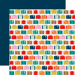 Carta Bella Paper - Pack Your Bags Collection - 12 x 12 Double Sided Paper - Away We Go