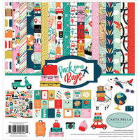 Carta Bella Paper - Pack Your Bags Collection - 12 x 12 Collection Kit