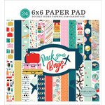 Carta Bella Paper - Pack Your Bags Collection - 6 x 6 Paper Pad
