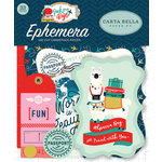 Carta Bella Paper - Pack Your Bags Collection - Ephemera