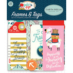Carta Bella Paper - Pack Your Bags Collection - Ephemera - Frames and Tags