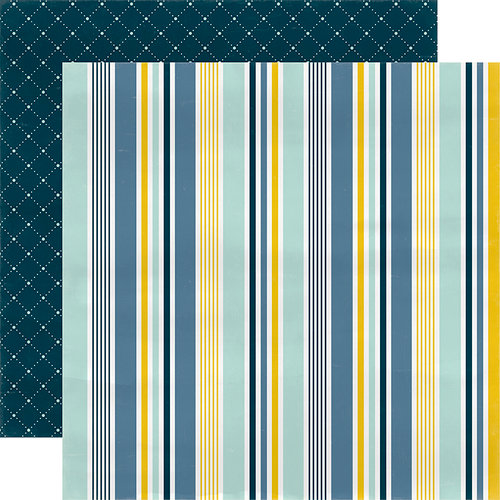 Carta Bella Paper - Rock-A-Bye Baby Boy Collection - 12 x 12 Double Sided Paper - Our Little Man