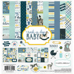 Carta Bella Paper - Rock-A-Bye Baby Boy Collection - 12 x 12 Collection Kit