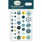 Carta Bella Paper - Rock-A-Bye Baby Boy Collection - Decorative Brads